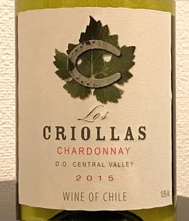 Los Criollas Chardonnay ロス・クリオラス シャルドネマンデロット ブラン