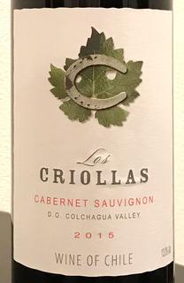 Los Criollas Cabernet Sauvignon ロス・クリオラス カベルネ・ソーヴィニヨン 赤 ボトル¥1,500(税抜) / テーブルグラス ¥350(税抜)